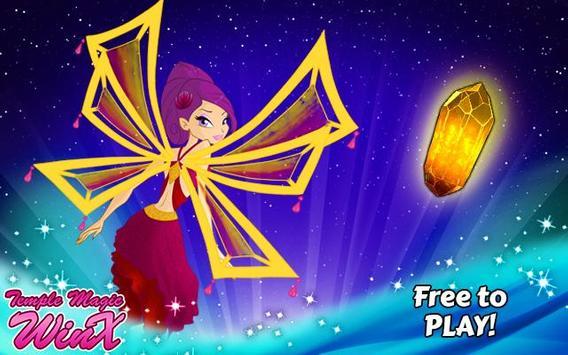 Temple Magic Winx Game poster