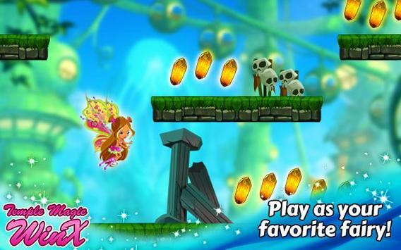 Temple Magic Winx Game apk screenshot