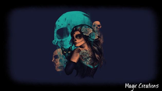 Mexican Skull Wallpaper apk screenshot