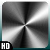 Chrome Metal Wallpaper icon