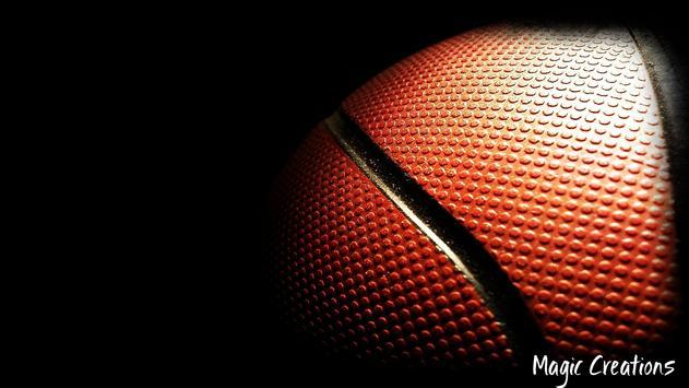 Basketball Wallpaper poster