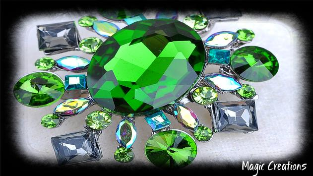 Emerald Crystal Wallpaper apk screenshot