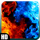 Fire Ice Wallpaper icon