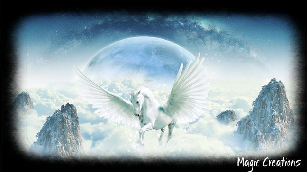 Pegasus Wallpaper poster