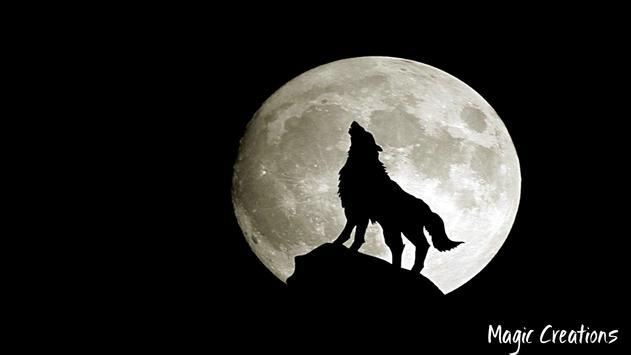 Wolf Moon Wallpaper apk screenshot