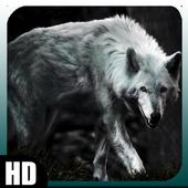 White Wolf Wallpaper icon