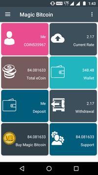 Magic Bitcoin apk screenshot