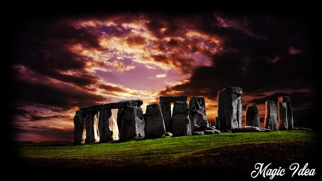 Stonehenge Wallpaper poster