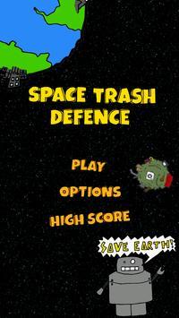 Space Trash Defence poster