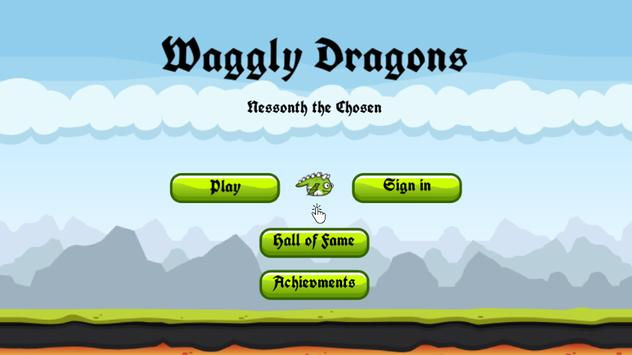 Waggly Dragons poster