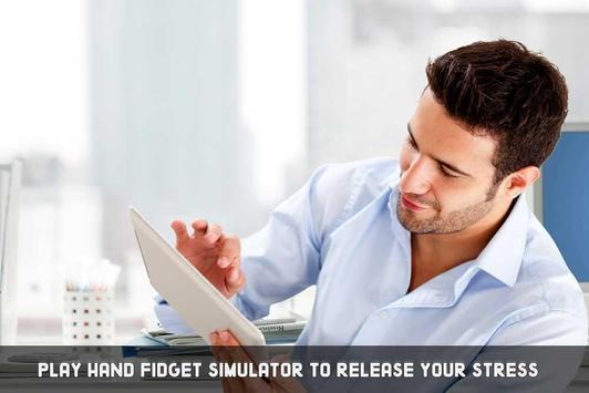 Hand Fidget Spinner Simulator screenshot 10