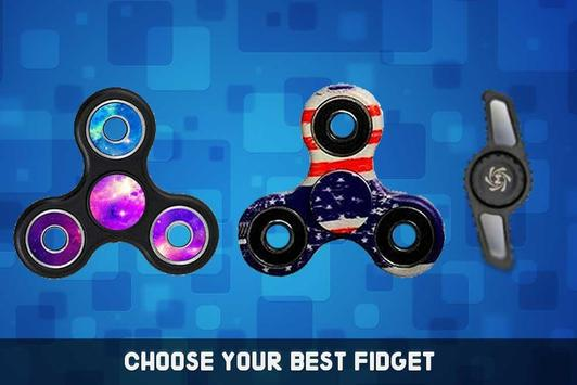 Hand Fidget Spinner Simulator screenshot 11