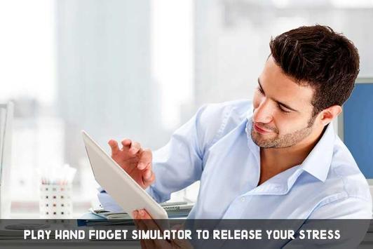 Hand Fidget Spinner Simulator screenshot 2