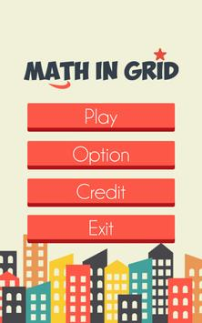 Math In Grid poster