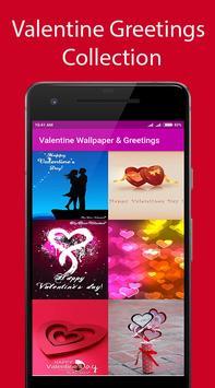 Valentine Wallpaper & Greetings apk screenshot