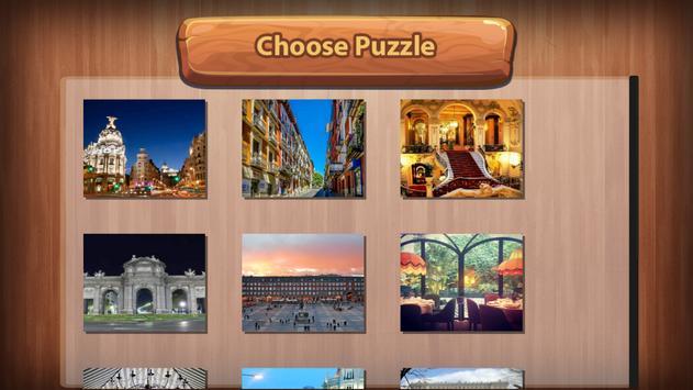 Madrid Puzzles Rompecabezas poster