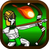 Castle Gym Defense – Strategic Archer Defense Game icon