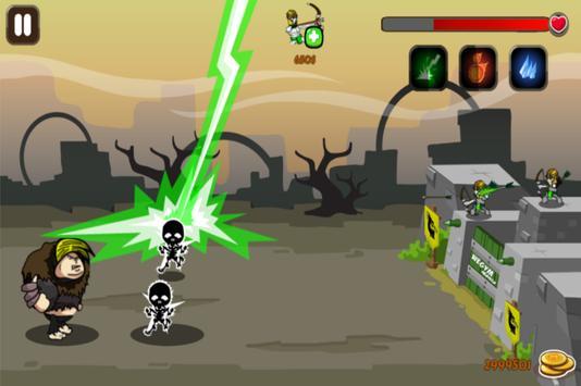 Castle Gym Defense – Strategic Archer Defense Game screenshot 4