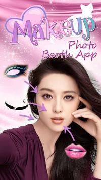 Makeup Photo Booth App poster