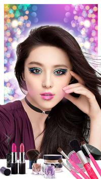 Makeup Photo Booth App 👄💄 apk screenshot