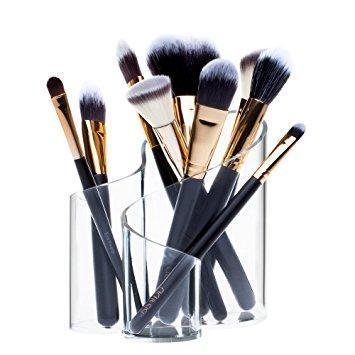 Acrylic Makeup Brush Holder screenshot 1