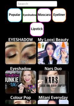 Makeup tips and ideas apk screenshot