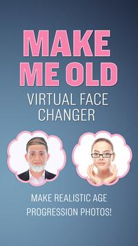 Make Me Old Face Photo Editor poster