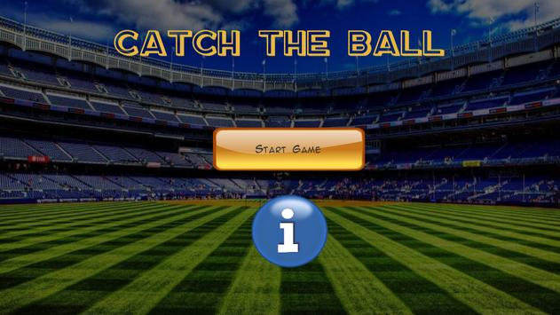 Catch the ball poster