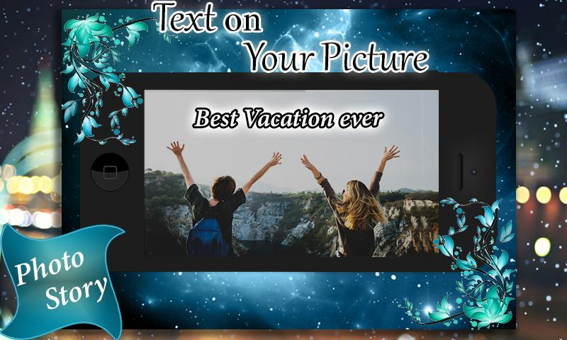 TexoPic : Text on your Profile picture poster
