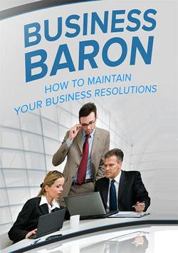 Maintain Business Resolutions poster