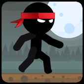 Ninja Stickman - Running Game icon