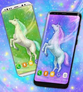 Majestic Unicorn Wallpaper screenshot 1