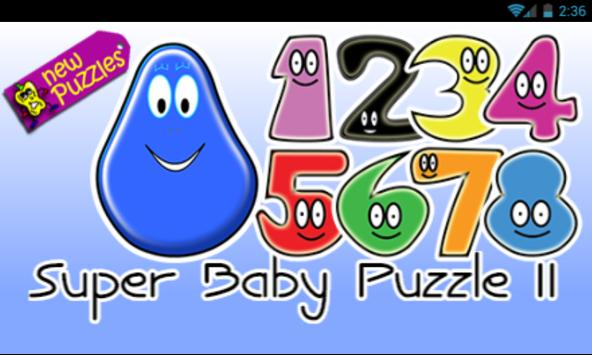 SUPER BABY PUZZLE 2 poster