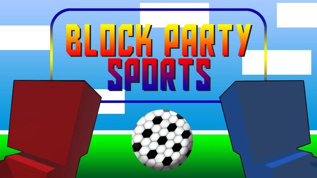 Block Party Sports FREE poster