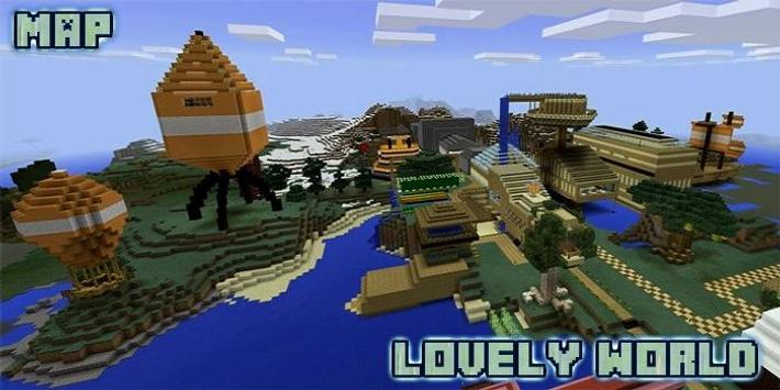 Lovely world map for mcpe for android apk download lovely world map for mcpe captura de pantalla 1 gumiabroncs Image collections