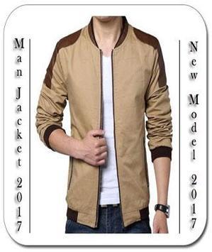 Man Jacket Design poster