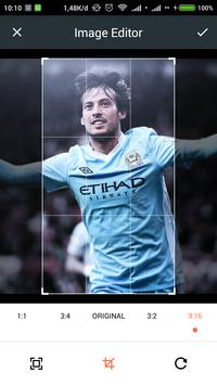 HD David Silva Wallpaper apk screenshot