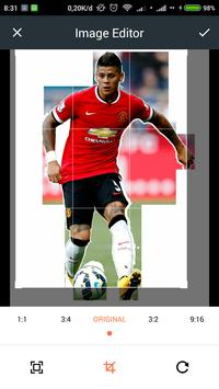 HD Marcos Rojo Wallpaper screenshot 1