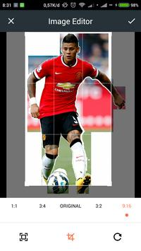 HD Marcos Rojo Wallpaper screenshot 2