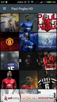 HD Paul Pogba Wallpaper poster