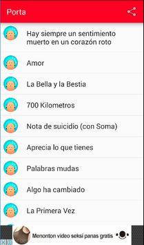 La Porta Musica y Letra screenshot 1