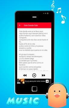 Portavoz Musica y Letra apk screenshot