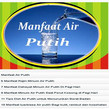 Manfaat Air Putih screenshot 1