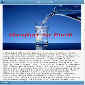 Manfaat Air Putih screenshot 2