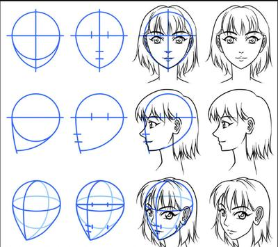 Manga drawing screenshot 4