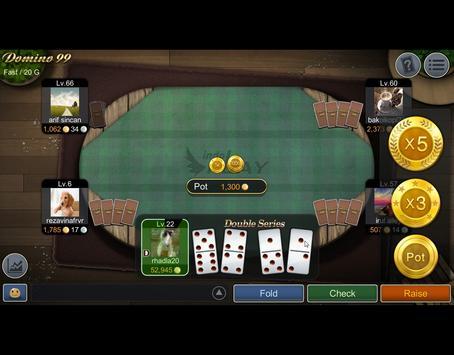 NEW Mango Domino 99 - QiuQiu apk screenshot