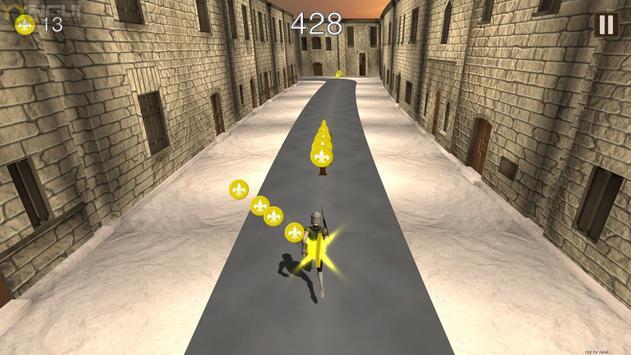 Maniac Run - Castle adventure screenshot 1