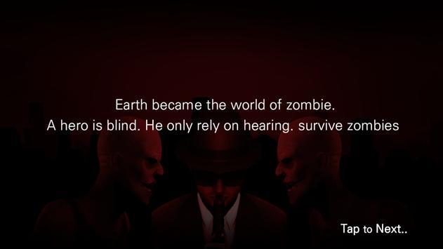 Zombie Audio1(VR Game_English) apk screenshot