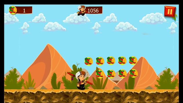 Super Mansor Run apk screenshot