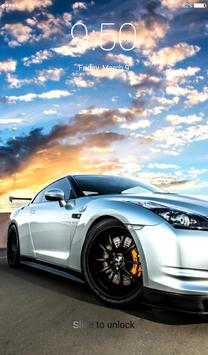 GT-R Lock Screen screenshot 4